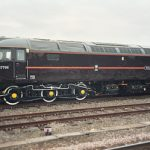 47798 PRINCE WILLIAM (Class 47 Diesel Locomotive, Royal Train Livery) - York Station, 20th July 2004